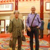 Prof Toru Okuda, President of the Mycological Society of Japan, and Dr. Pearce at the kabuki theatre in the Ginza