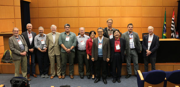 Group photo from Thinking Big About Small Beings: Recent Advances On Microbial Diversity, Ecology and Biodiscovery